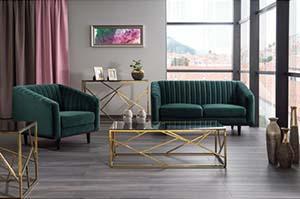 Sofa i fotel SIGNAL Asprey