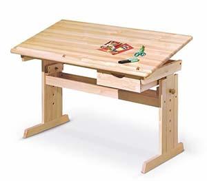 Biurka regulowane dla dzieci - biurko Halmar Julia