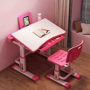 Biurka regulowane dla dzieci - biurko Unique Sandy