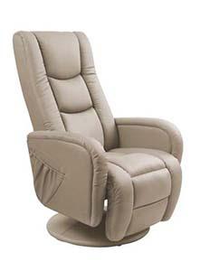 Fotel rozkładany relaksacyjny - Halmar Pulsar Recliner z funkcją masażu i podgrzewania