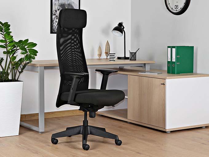 przewiewny fotel komputerowy