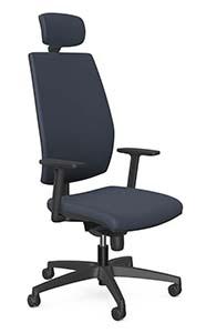 Fotel dla wysokich osób - krzeslo Intar Seating Mira tap. TF-112
