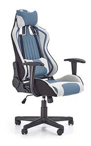 Kolorowe krzesła gamingowe - fotel gamingowy Halmar Cayman