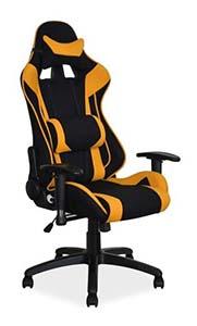 Kolorowe krzesła gamingowe - fotel gamingowy Signal Viper