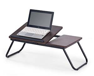 Jak wybrać biurko komputerowe - stolik pod laptopa Halmar B-19