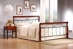 Na co zwrócić uwagę wybierając łóżko do sypialni? - łóżko Halmar Veronica