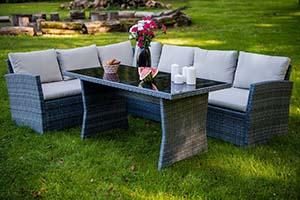 Zestaw wypoczynkowy do ogrodu - Zestaw mebli ogrodowych Bello Giardino Vistoso