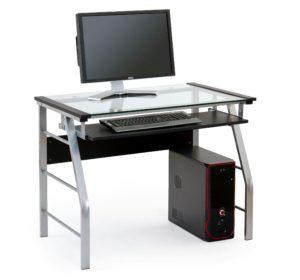 biurko ze szklanym blatem do komputera