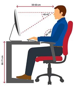 Ergonomia stanowiska pracy - ergonomia w pozycji siedzącej