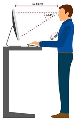 Ergonomia stanowiska pracy - ergonomia w pozycji stojącej