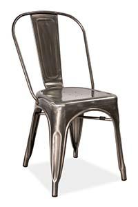 Styl industrialny - krzesło metalowe Signal Loft