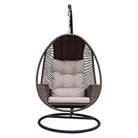 Huśtawka fotel wiszący Bello Giardino ADESSO brązowy