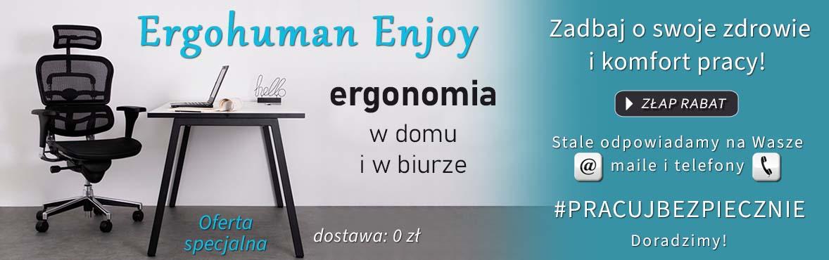 Fotel ERGOHUMAN ENJOY R HRMA - oferta specjalna