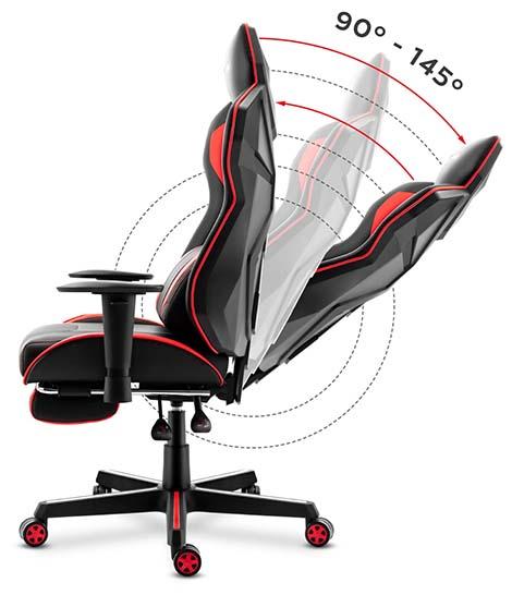Funkcja pochylania oparcia z siedziskiem Cradle Plus
